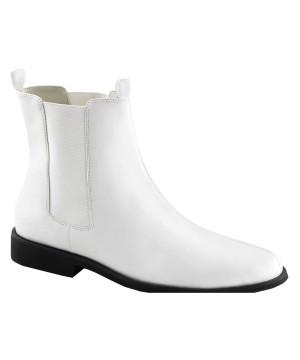 Classic White Cowboy Boots