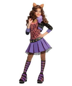 Clawdeen Wolf Kids Costume Deluxe