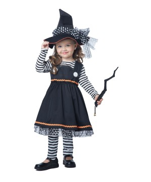 Witch Craft Little Spellbinding Toddler Girls Costume