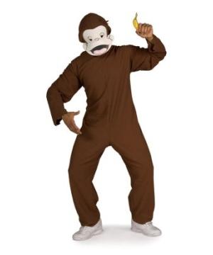 Curious George Adult Costume