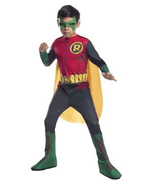 Robin The New 52 Dc Comics Boys Costume