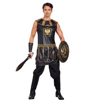 Deadly Warrior Man Costume