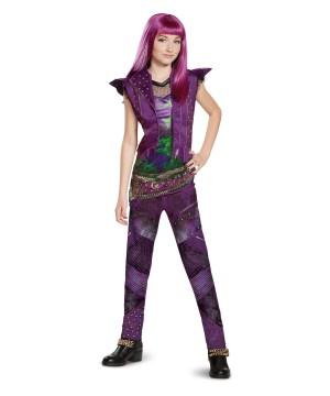 Girls Descendants 2 Mal Classic Costume