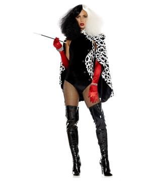 Sexy Devilish Storybook Villain Woman Costume