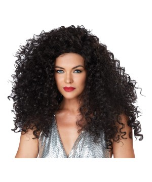 Brunette Disco Diva Women Wig