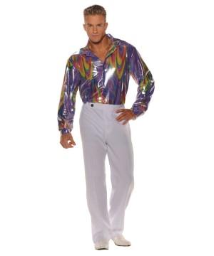 1970s King Disco Men Shirt