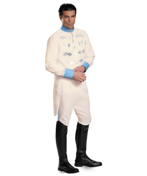 Prince Charming Cinderella Disney Movie Men Costume