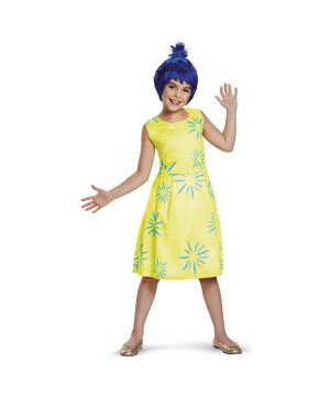 Inside Out Joy Disney Girls Costume
