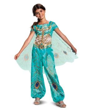 Jasmine Teal Classic Girl Costume