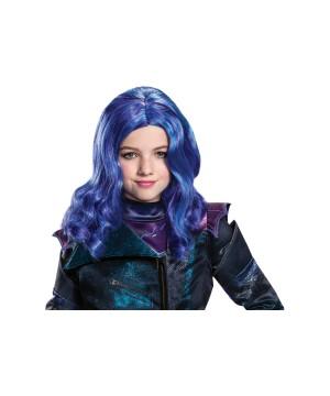 Mal Disney Descendants 3 Girl Wig