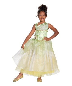 Disney Princess Tiana Deluxe Girls Costume