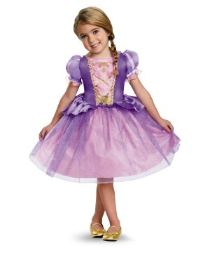 Disney's Tangled Rapunzel Little Girls Costume