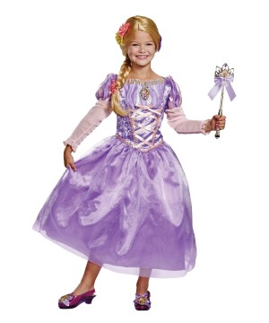 Disney Rapunzel Girls Dress Costume