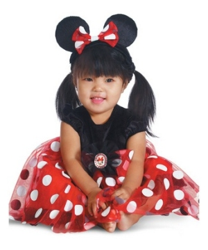 Disney Red Minnie Baby Costume