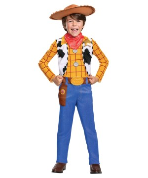 Disney Toy Storys Woody Boys Costume