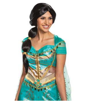 Disneys Jasmine Womens Wig