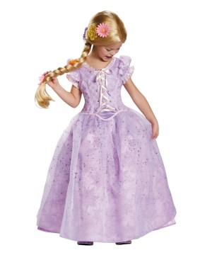 Disneys Rapunzel Girls Prestige Costume