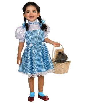 Sparking Dorthy From Alice In Wonderland Big Girls Costume