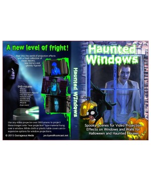 Halloween Haunted Decoration Video Projection Illusions Dvd Combo