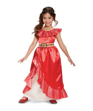 Girls Disney Elena Adventure Costume