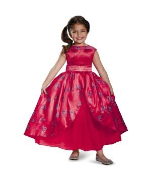 Disney Elena Of Avalor Princess Elena Ball Gown Deluxe Girls Costume