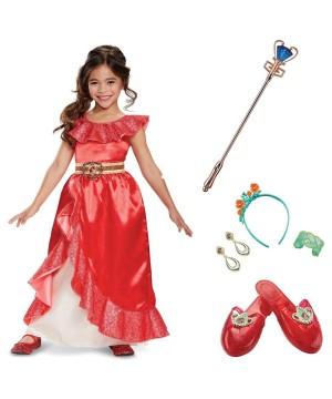 Elena Of Avalor Girls Costume Kit