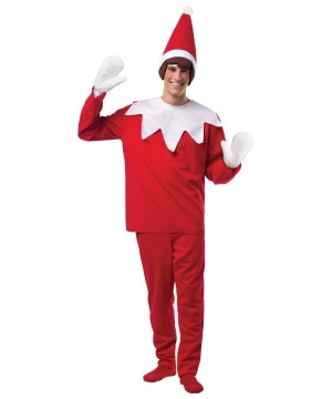 Elf On A Shelf Christmas Costume For Men