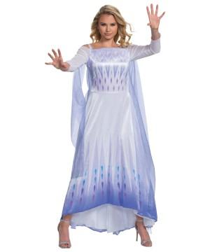 Elsa Frozen 2 Deluxe Womens Costume