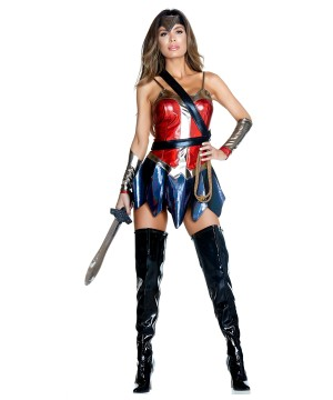 Sexy Wonder Woman Women Costume