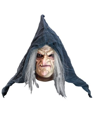 Evil Old Witch Mask