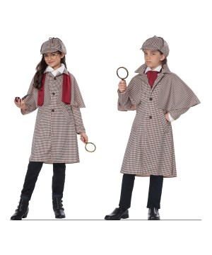 Famous Detective Kid Costume