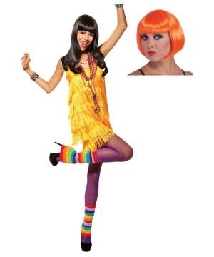 Chick Flapper Costume Kit