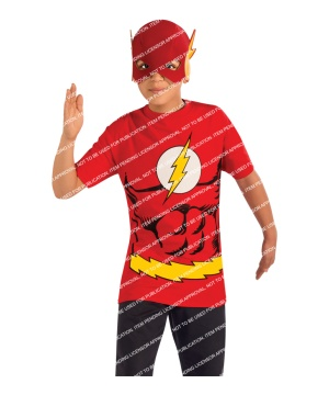 Dc Comics Flash Boys Costume Set