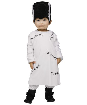 Little Bride Of Frankie Baby Girl Costume