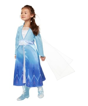 Frozen 2 Elsa Dress With Cape