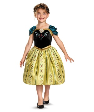 Coronation Gown Girls Classic Disney's Frozen Costume