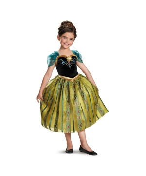 Frozen Anna Coronation Gown Toddler/ Girls Costume Deluxe