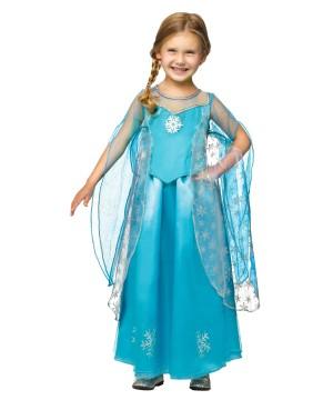 Frozen Ice Queen Girls Elsa Inspired Halloween Costume