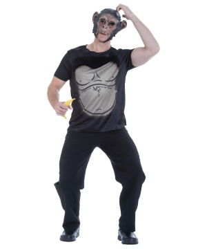 Funky Monkey Mens Costume Kit