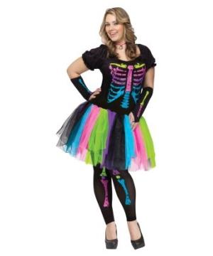 Funky Punk Bones Adult Costume