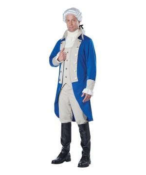 George Washington Colonial Men Costume