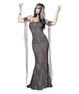 Zombie Mummy Ghost Womens Halloween Costume
