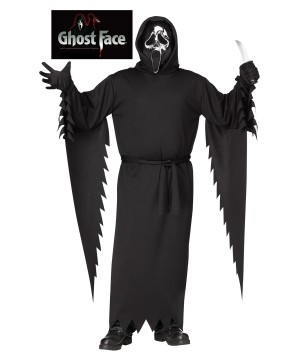 Ghost Face Man Costume
