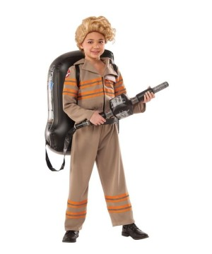 Official Ghostbusters Movie Girls Costume Deluxe