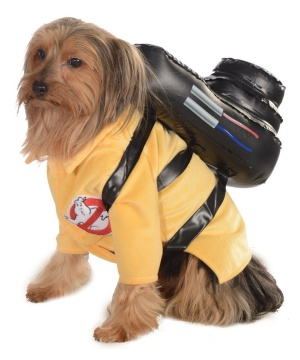 Ghostbusters Pet Costume Classic Halloween Supernatural Comedy Film