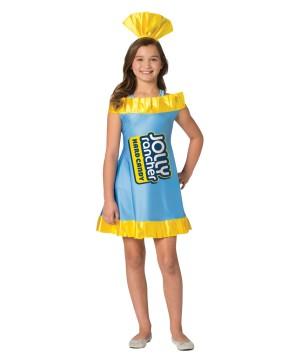 Girls Jolly Rancher Blue Raspberry Dress