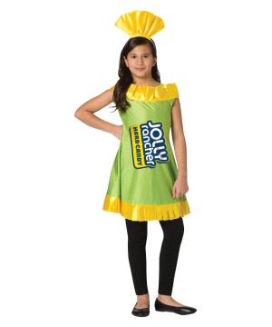 Girls Jolly Rancher Dress Apple Dress