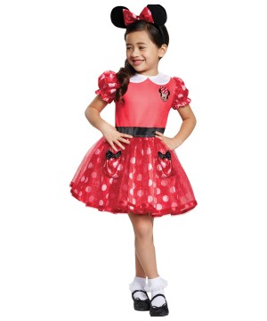 Girls Minnie Mouse Toddler Costume
