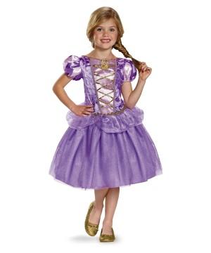 Rapunzel Disney Classic Girls Costume