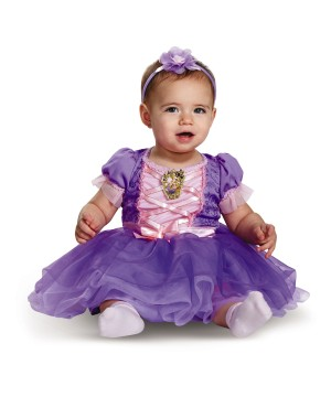 Disney Rapunzel Deluxe Baby Girls Costume